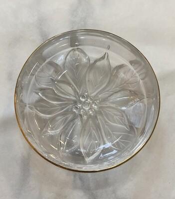 Studio Nova Gilded Poinsettia Candy Dish