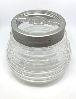 Joyful Garden Glass Jar with Lid