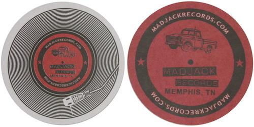 MADJACK Records Coasters 25 Pack 0000003