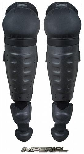 Hard Shell Knee/Shin Guards w/ Non-slip knee caps DSG-100