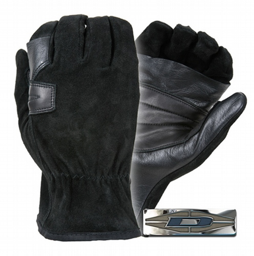 Suede palm reinforced rappelling gloves DFR-10