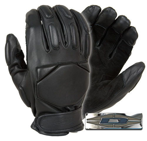 Responder™ - Leather gloves with reinforced palms (Full Finger) DRE-25