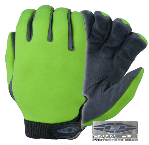 UltraVIZ™ - Unlined high visibility neoprene (Lime) DNS-LT