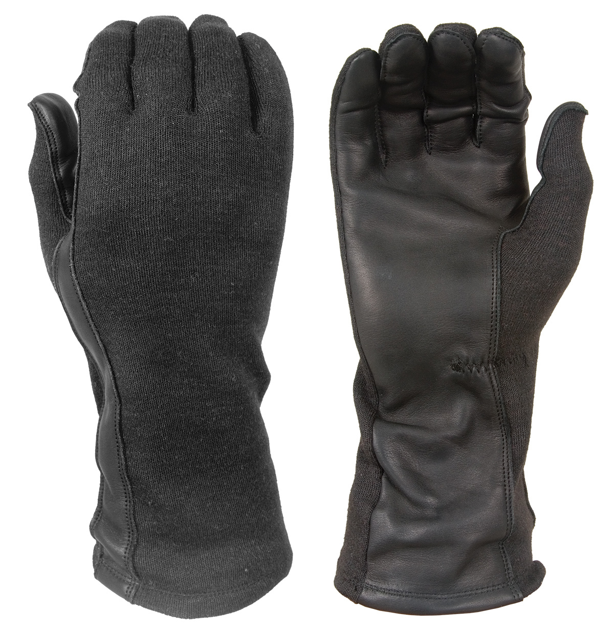 Flight gloves with Nomex® and leather palms DNXF190-B