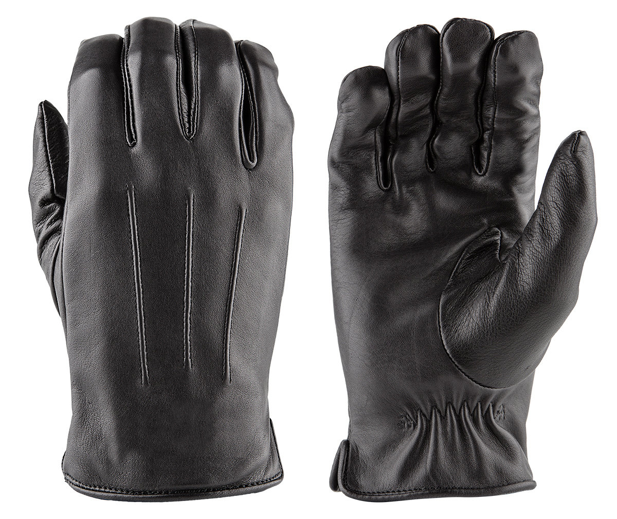 LUXE Deer Skin Leather Gloves w/ Faux Fur Lining DLD50-LX