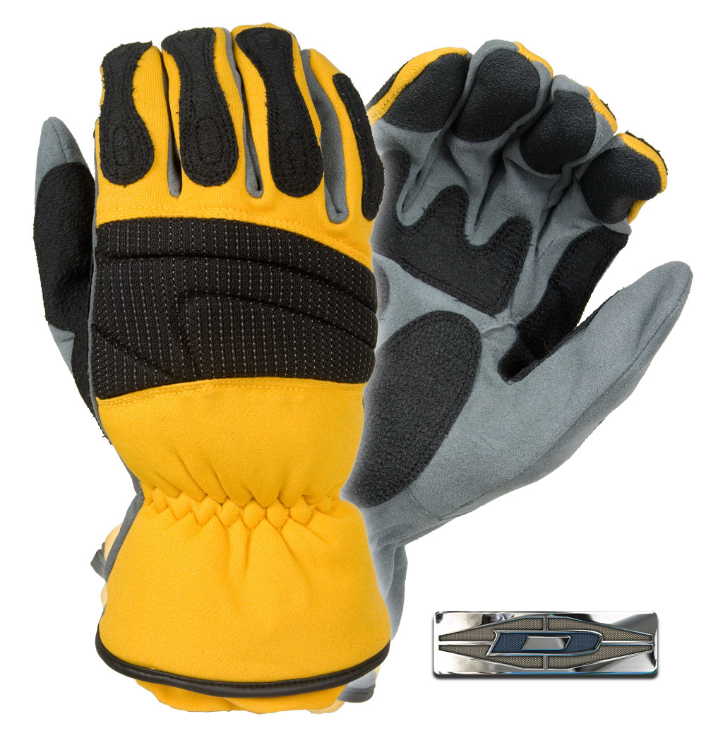 PRO-X™ Heavy-duty Extrication gloves (Yellow) D911