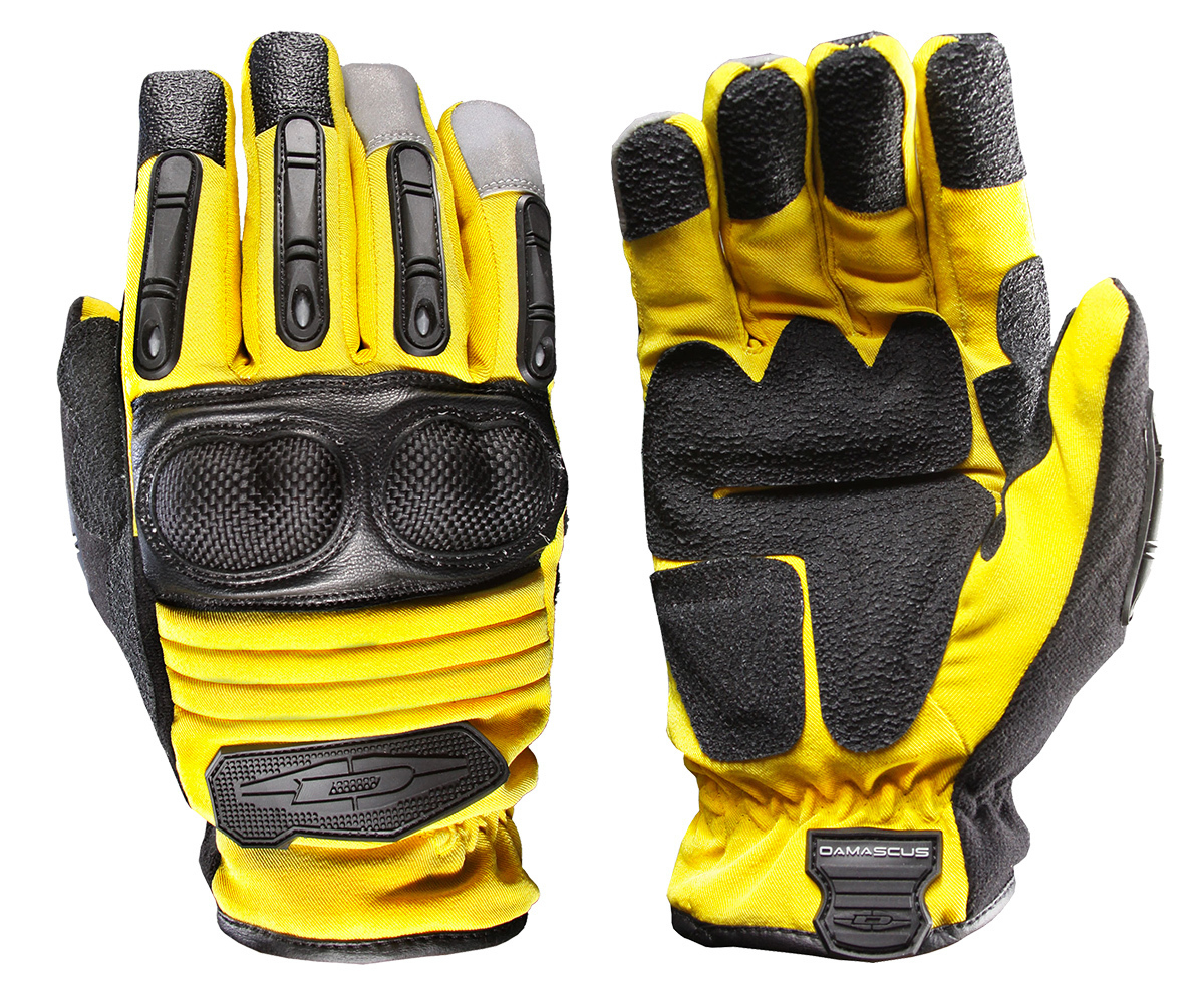 Extrication & Rescue Gloves w/ Hard Knuckles D90X-Y