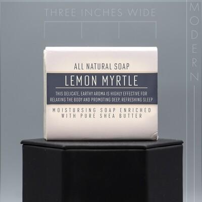 Modern Lemon Myrtle Natural Soap