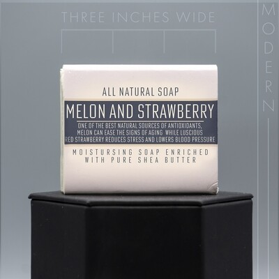 Modern Melon and Strawberry Natural Soap