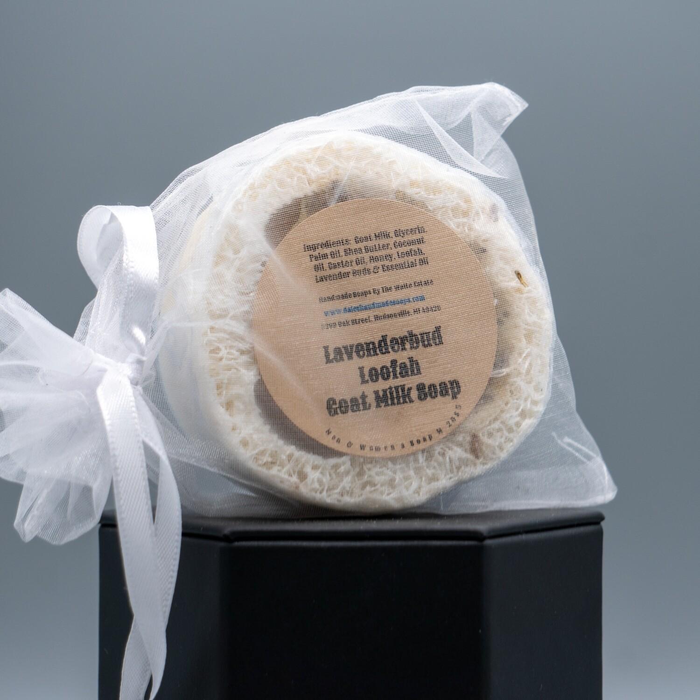 Lavender Bud Loofah Goat Milk Soap Personal Care