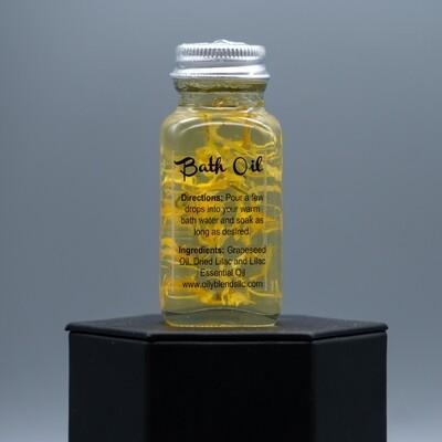 Lilac Natual Bath Oil