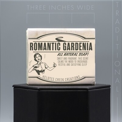 Traditional Romantic Gardenia Natural Soap