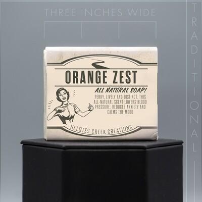 Traditional Orange Zest Natural Soap
