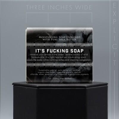 Explicit Wild Honeysuckle Natural Soap