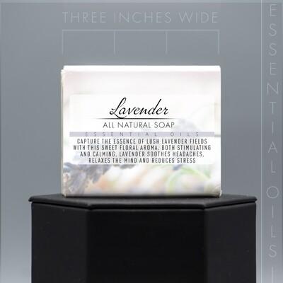 Essential Oil Lavender Natural Soap