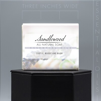 Essential Oil Sandalwood Natural Soap