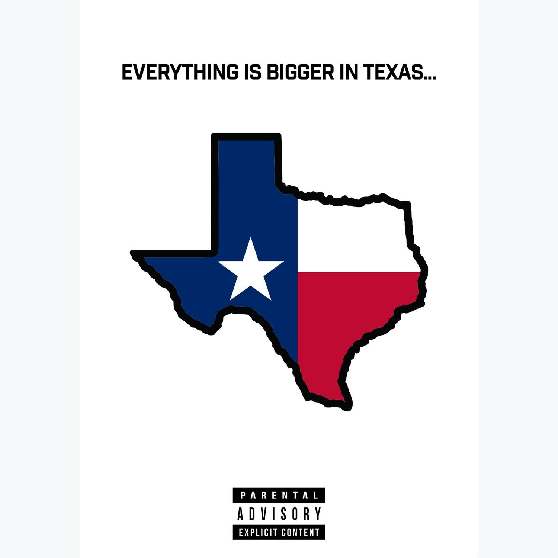 Bigger in Texas Explicit Card