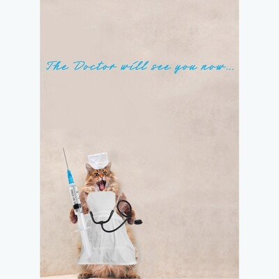 Doctor Will See You Get Well Card