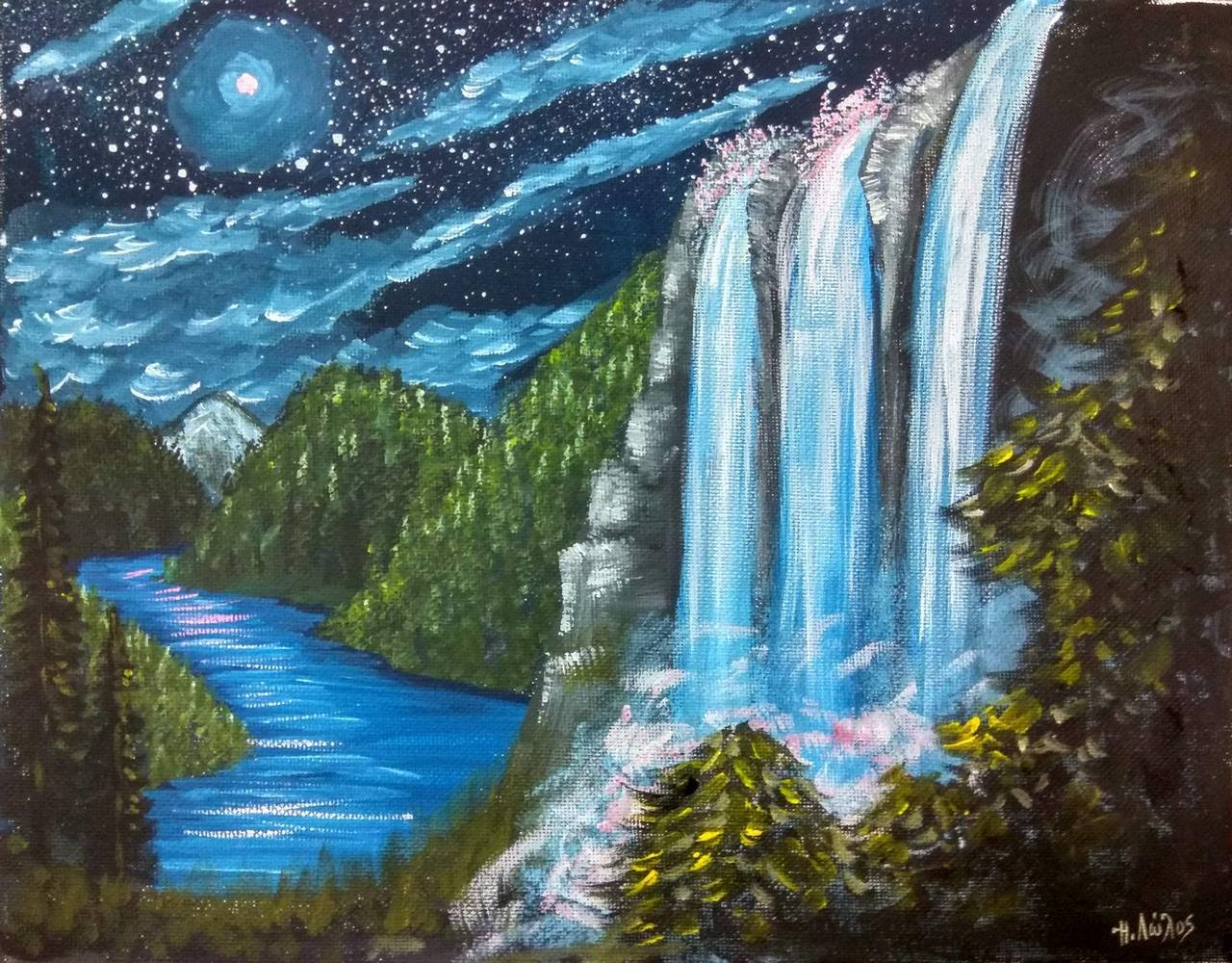 Πίνακας Ζωγραφικής (25x30) 012