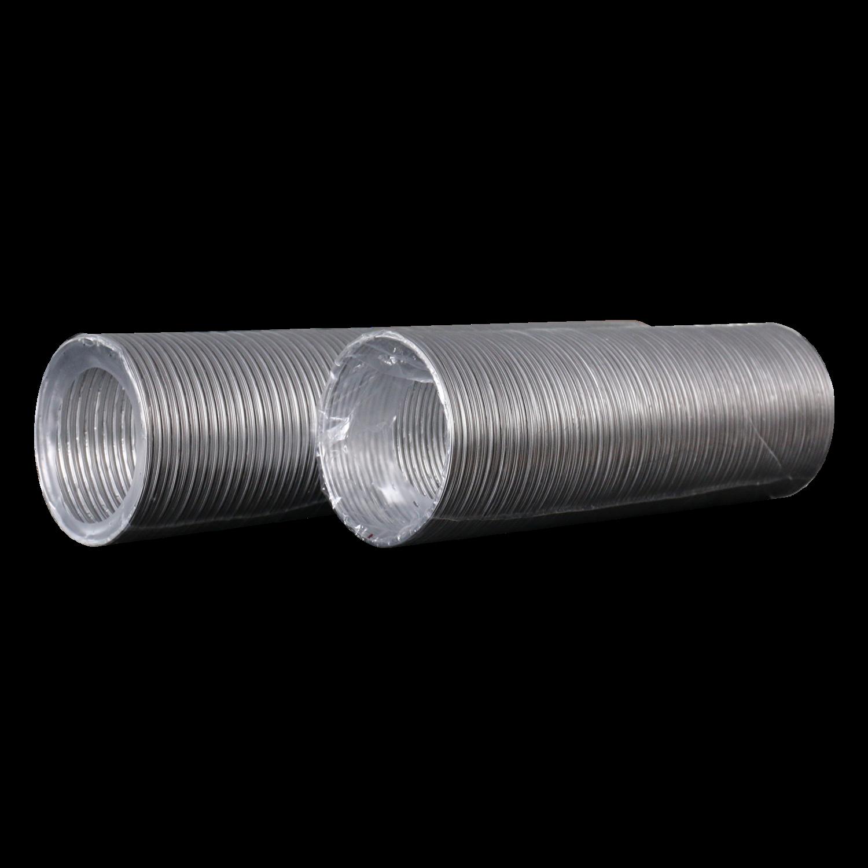 10ВА, Воздуховод гибкий алюминиевый гофрированный, L до 3м