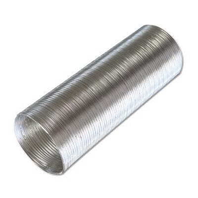 12ВА, Воздуховод гибкий алюминиевый гофрированный, L до 3м