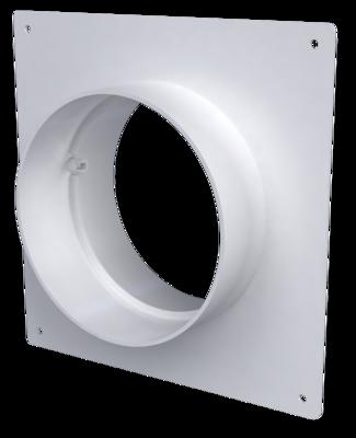 10SKNP, Соединитель круглых каналов с накладной пластиной, D100