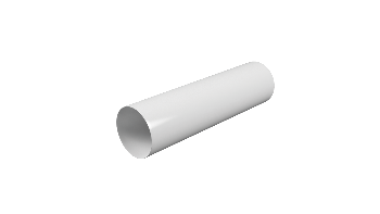 10ВП2, Воздуховод круглый ПВХ D100, L=2м