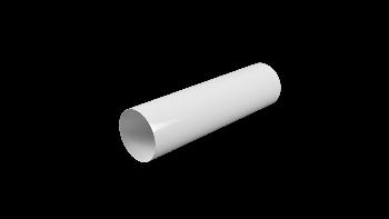 12,5ВП1,5, Воздуховод круглый ПВХ D125, L=1,5м