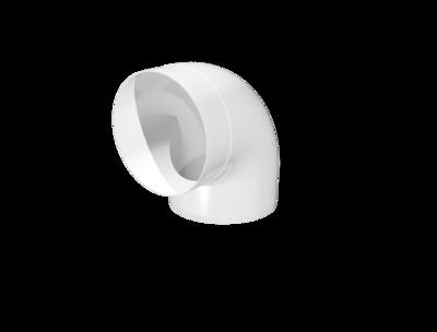 12,5ККП, Колено пластик 90° , D125
