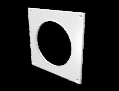 10НКП, Накладка торцевая пластик 150х150, для воздуховода D100