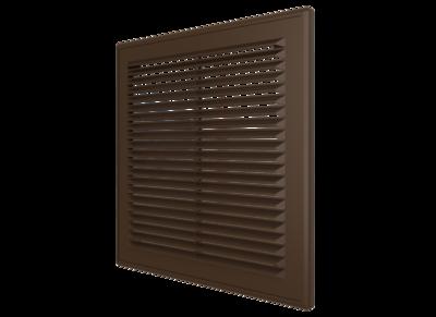 1515Р кор, Решетка вентиляционная вытяжная АБС 150х150, кор.