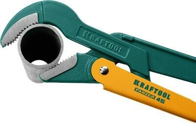 KRAFTOOL PANZER-V, №0, ключ трубный, изогнутые губки