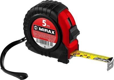 MIRAX Rubber 5м / 18мм рулетка в обрезиненном пластиковом корпусе