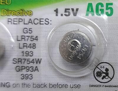 Батарейка AG5