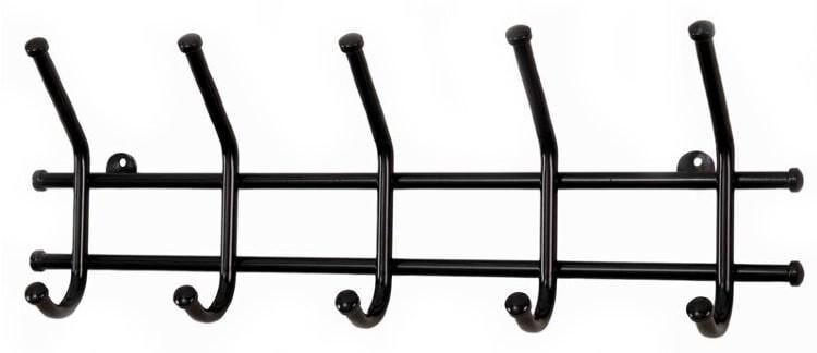 ZM. Вешалка Норма 5 цвет черный