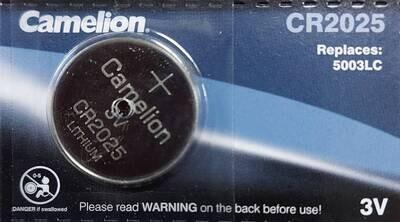 Батарейка CR 2025