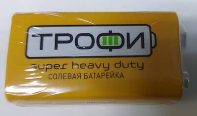Батарейка солевая КРОНА, 9 вольт
