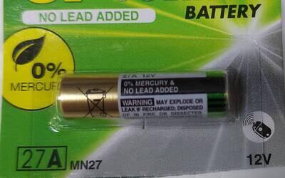 Батарейка 27А