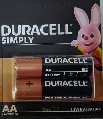Батарейка DURACELL АА пальчиковая