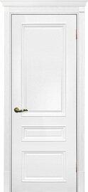 Дверь Смальта 06, Белый ral 9003, Эмаль, глухое