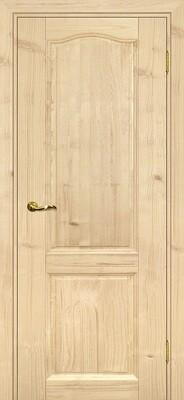 Дверь Дача, Бесцветный, Массив, глухое