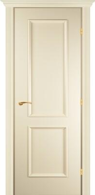 Дверь 05.50 (э), Слоновая кость, Эмаль, глухое , левая