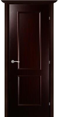 Дверь 05.50 (ш), Венге тонированный, Шпон, глухое , левая