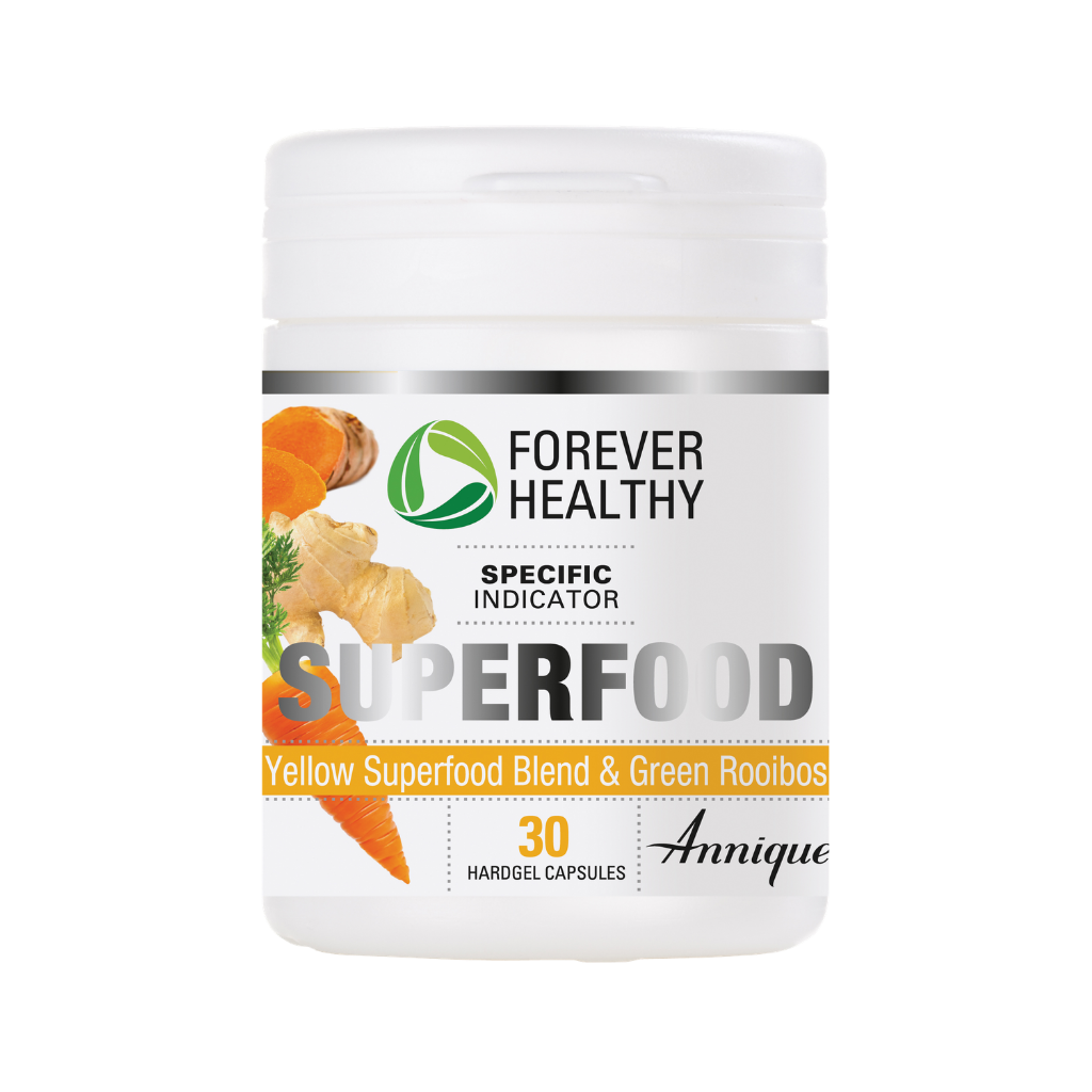 Annique Forever Healthy Superfood Yellow Superfood blend