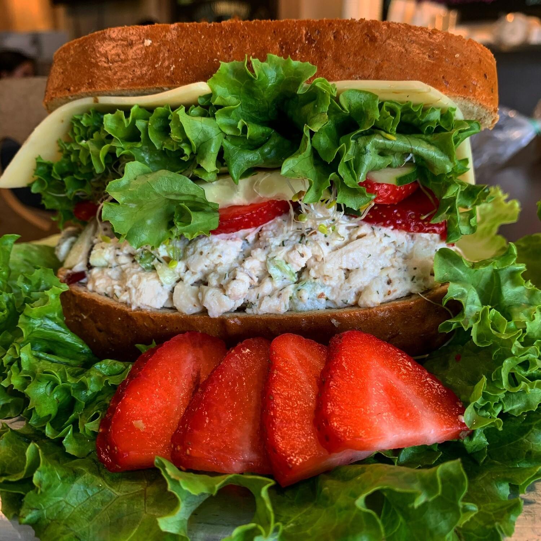 Pecan Chicken Salad Sandwich