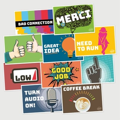Video Call Survival Kit (10 cards)
