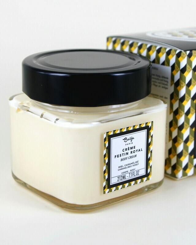 Baïja crème corps Miel caramélisé - 212ml