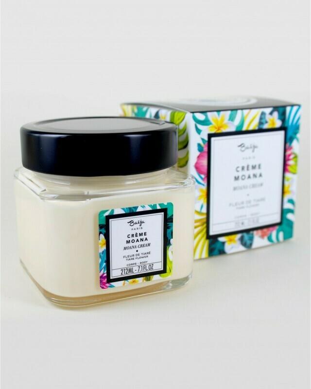 Baïja Crème Corps Fleur de tiaré - 212ml