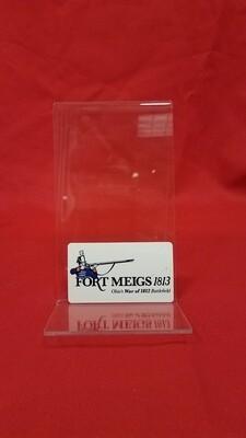 Fort Meigs Magnet Soldier Logo