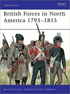 British Forces in North America 1793-1815
